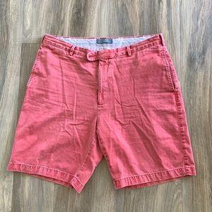 Peter Millar Red Twill Shorts